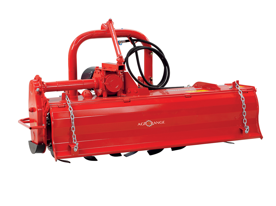 Hydraulic Side Shifting Rotary Tiller